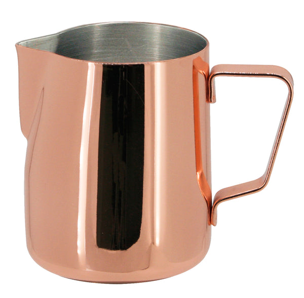 JoeFrex Frothing & Foaming Milk Pitcher, Copper