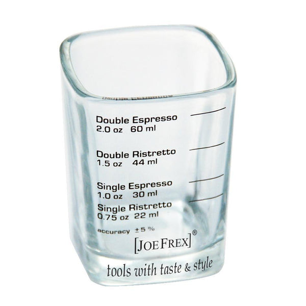 JoeFrex Espresso Shot & Measuring Barista Glass, 2 oz.