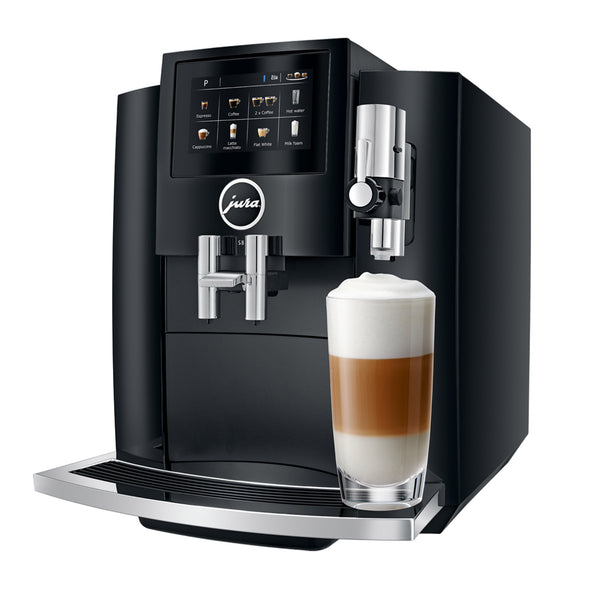 Jura S8 Automatic Espresso Machine, Piano Black