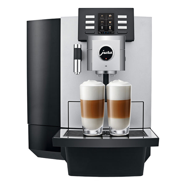 Jura X8 Professional Automatic Espresso Machine, Platinum