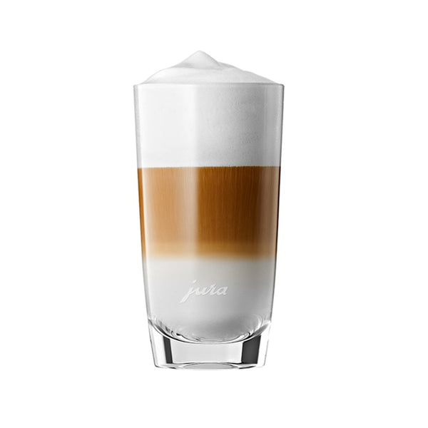 Jura Glass Latte Macchiato Cups 9 oz, Set of 2