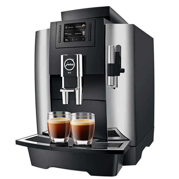 Jura WE8 Professional Automatic Espresso Machine, Chrome