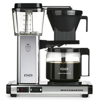 Technivorm Moccamaster KBG-741AO Coffee Maker, Polished Silver