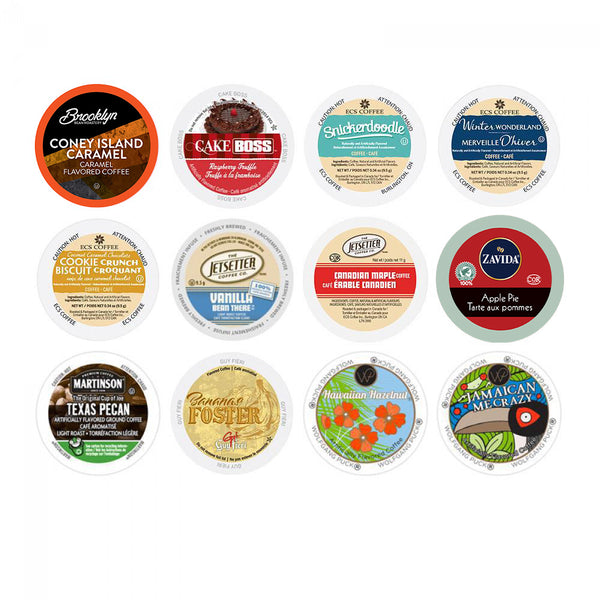 Flavoured Sampler Single Serve Variety 12 Pack