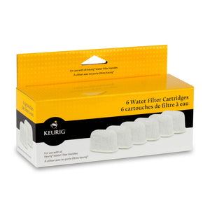 Keurig Water Filter Cartridge Refills 6 Pack