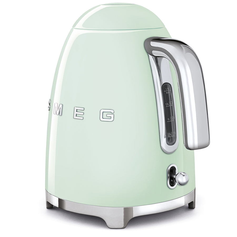 Smeg Electric Tea Kettle, Pastel Green