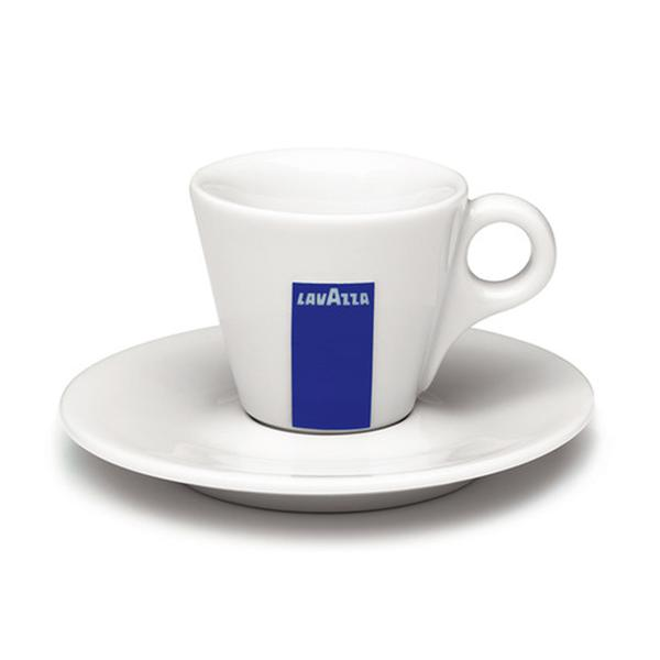 Lavazza Cappuccino Cup and Saucer Set, 6 oz