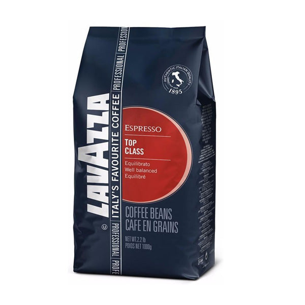 Lavazza Top Class Espresso Whole Bean Coffee 1kg