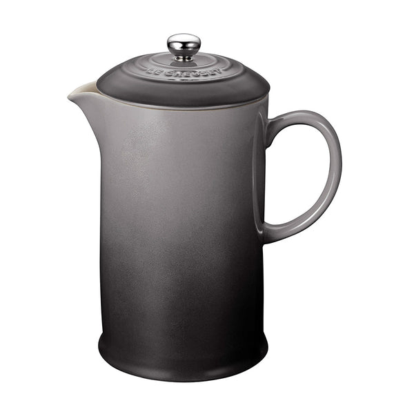 Le Creuset Cafe Stoneware French Press - Oyster