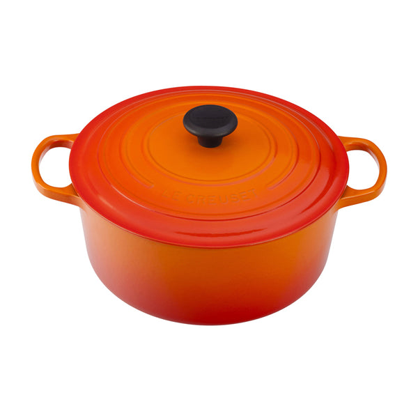 Le Creuset Signature Cast-Iron Round French Oven 6.7L - Flame