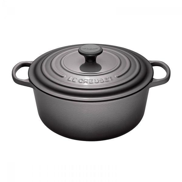 Le Creuset Signature Cast-Iron Round French Oven 6.7L - Oyster