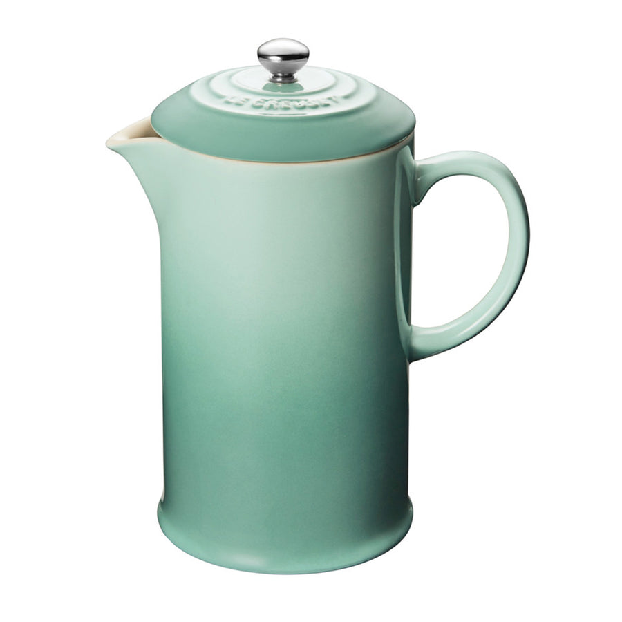 Le Creuset Cafe Stoneware French Press - Sage