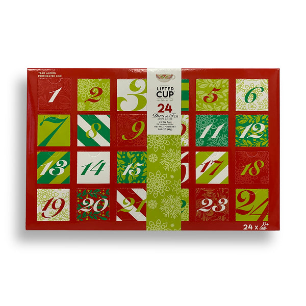 Lifted Cup Advent Calendar of Tea