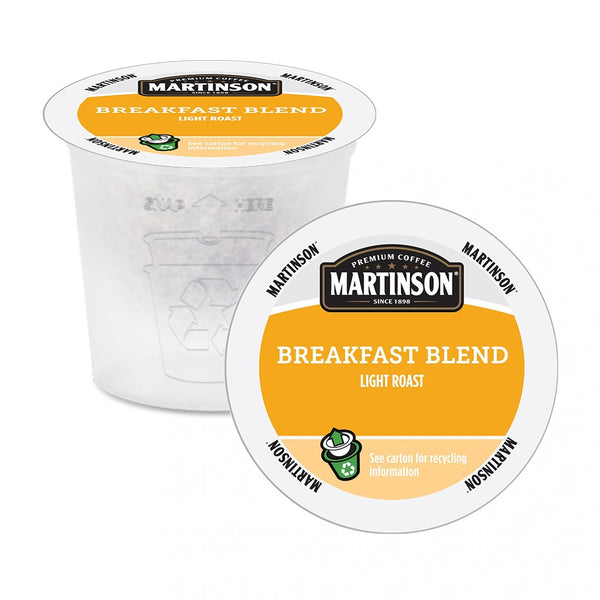 Martinson Breakfast Blend Single Serve Coffee 24 Pack