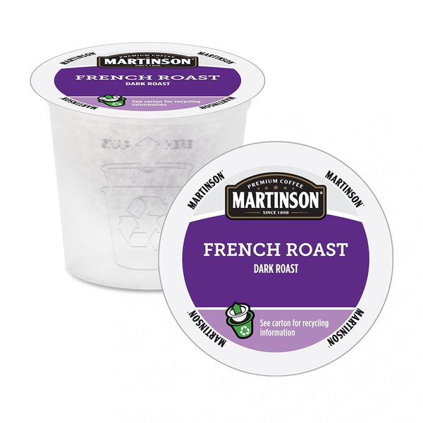 Martinson French Roast Single Serve Coffee 24 Pack