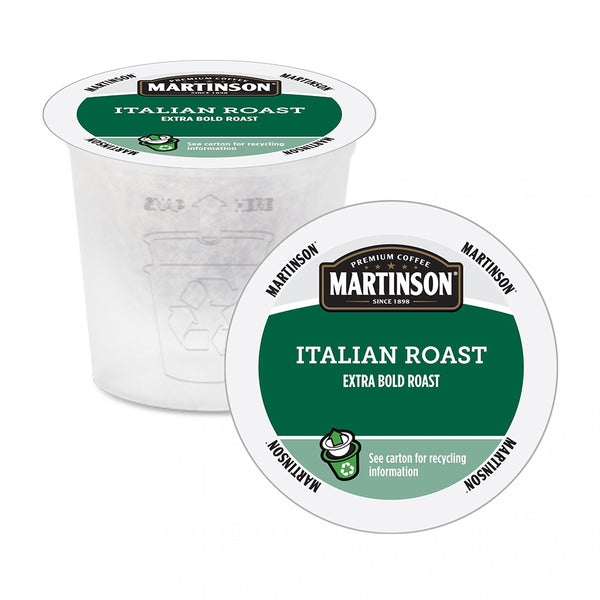 Martinson Italian Roast Single Serve Coffee 24 Pack