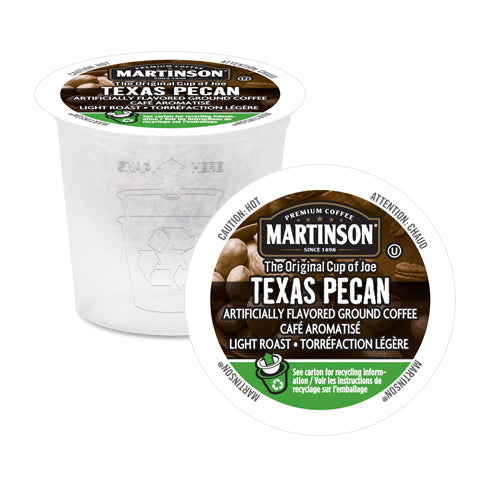 Martinson Texas Pecan Single Serve Coffee 24 Pack