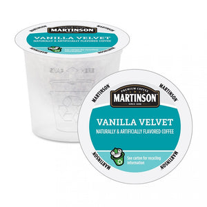 Martinson Vanilla Velvet Single Serve Coffee 24 Pack