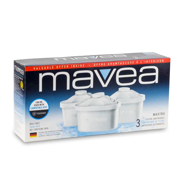 Mavea Maxtra Water Filter Replacement Cartridge 3pk