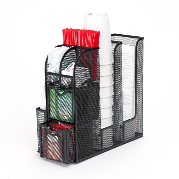 Mind Reader Mesh Coffee Caddy Organizer