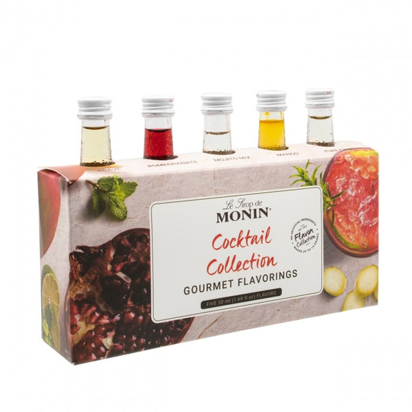 Monin Cocktail Flavour Collection, 5 Pack