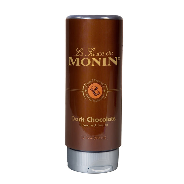 Monin Dark Chocolate Sauce, 12 oz.