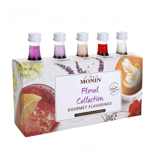 Monin Floral Flavour Collection, 5 Pack