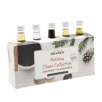 Monin Holiday Cheer Flavour Collection, 5 Pack