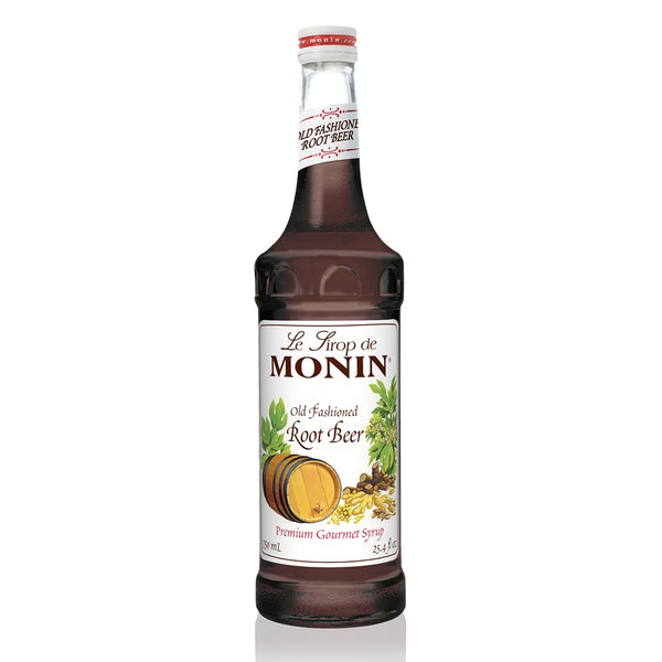 Monin Premium Old Fashioned Root Beer Syrup, 750 ml