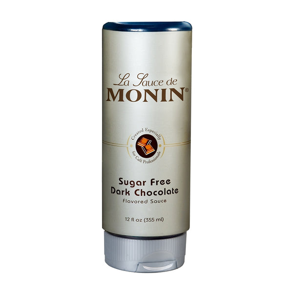 Monin Sugar Free Dark Chocolate Sauce, 12 oz.