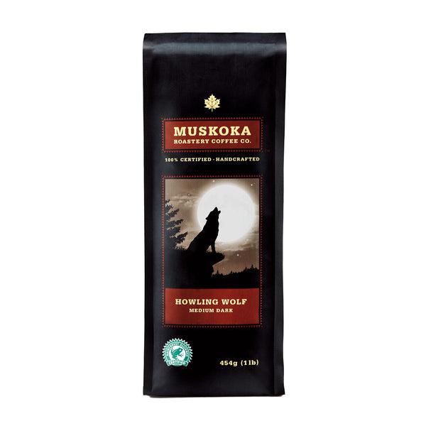 Muskoka Roastery Howling Wolf Whole Bean Coffee, 14 oz.