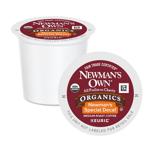 Newman's Own Organics Special Decaf K-Cup Pods 24 Pack