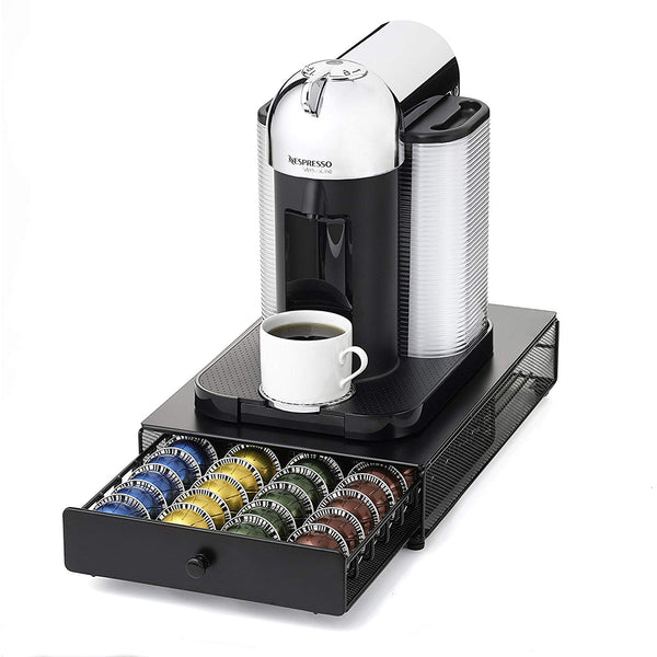 Nifty Solutions Nespresso Vertuoline Capsule Drawer, Black