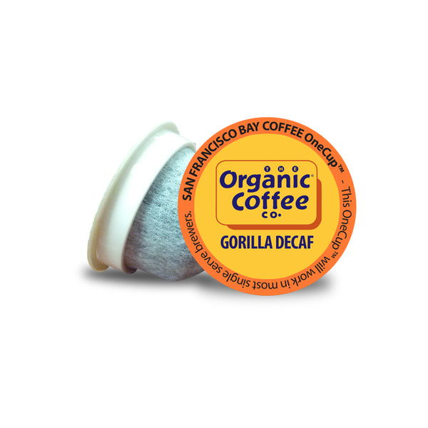 Organic Coffee Co. Gorilla Decaf Single Serve Coffee 36 Pack