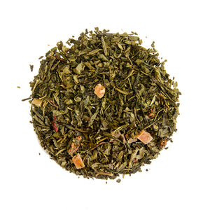 Organic Long Island Strawberry Green Tea