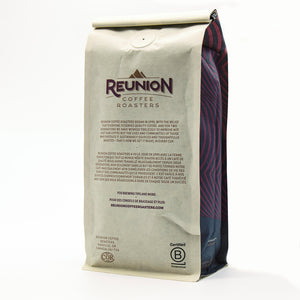 Reunion Coffee Roasters Bullet Espresso Whole Bean Coffee 12oz
