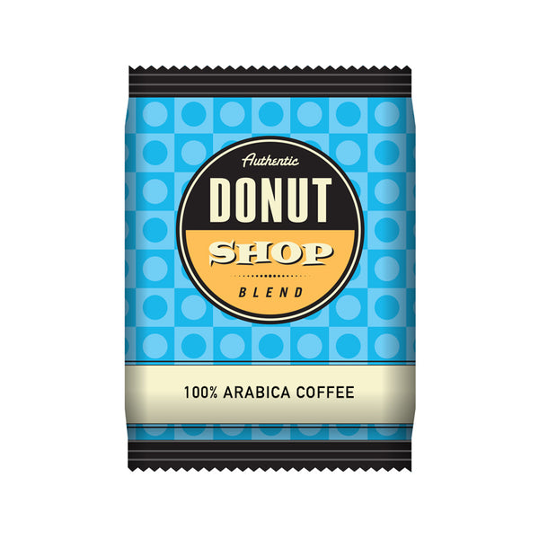 Reunion Island Authentic Donut Shop Portion Pack Coffee (2.5oz) 42 Count