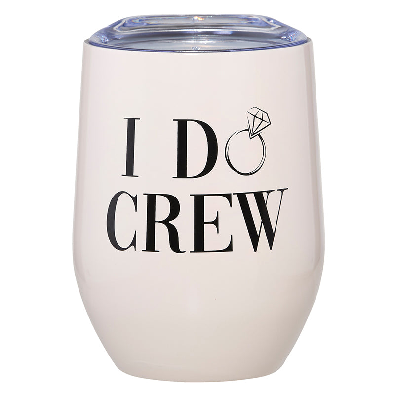 Santa Barbara Stemless Wine Tumbler, I Do Crew