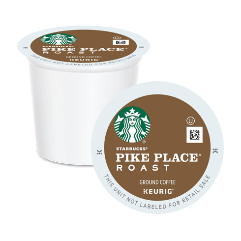 Starbucks Pike Place Roast K-Cup Pods 24 Pack