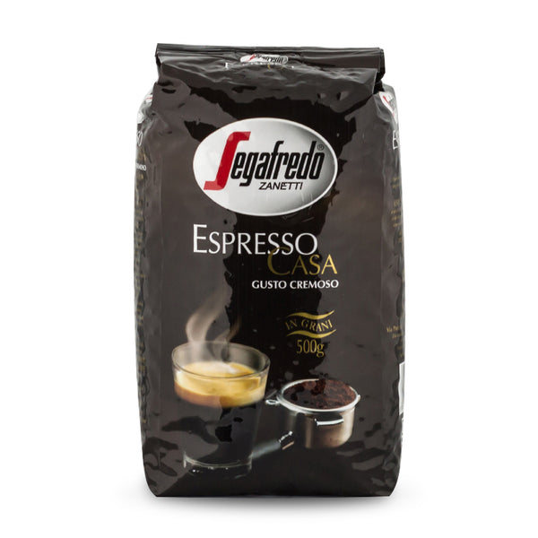 Segafredo Espresso Casa Whole Bean Coffee 500g
