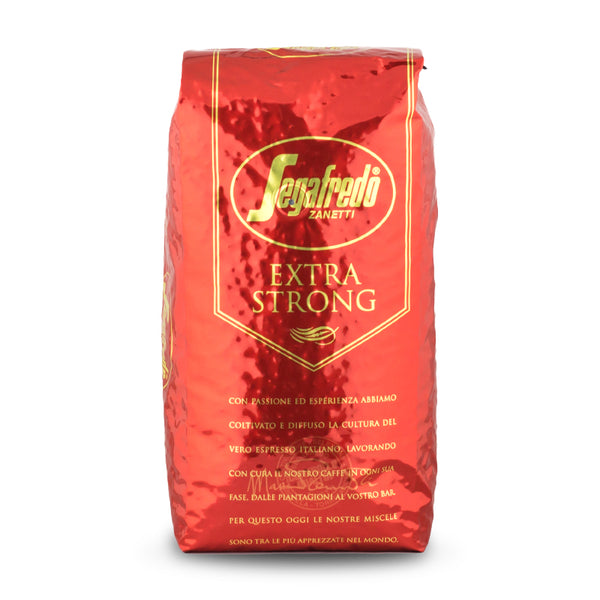 Segafredo Extra Strong Espresso Whole Bean Coffee 1kg