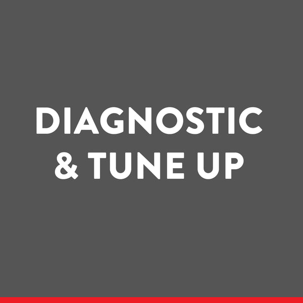 Diagnostic & Tune-Up ((Machine Not Listed)) (service)