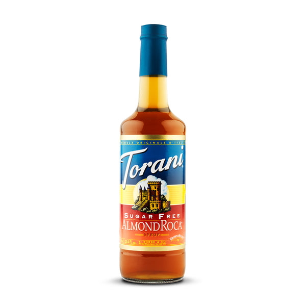 Torani Sugar Free Almond Rocca 750ml