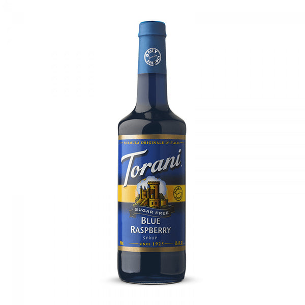 Torani Sugar Free Blue Raspberry Syrup 750 ml