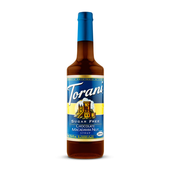 Torani Sugar Free Chocolate Macadamia Nut 750ml