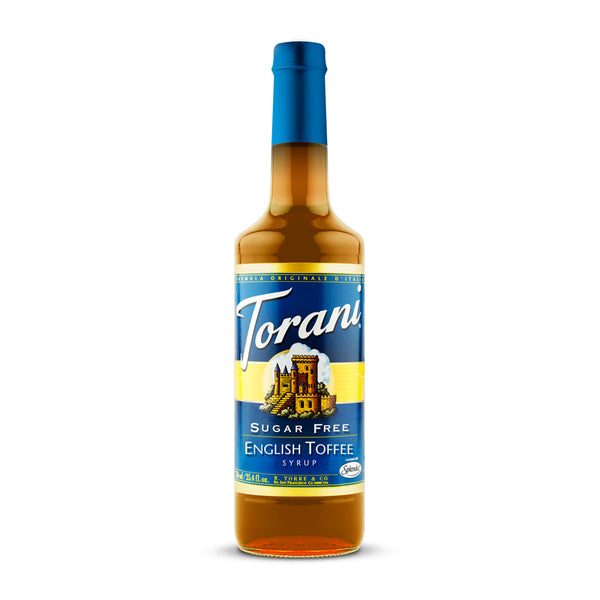 Torani Sugar Free English Toffee 750ml