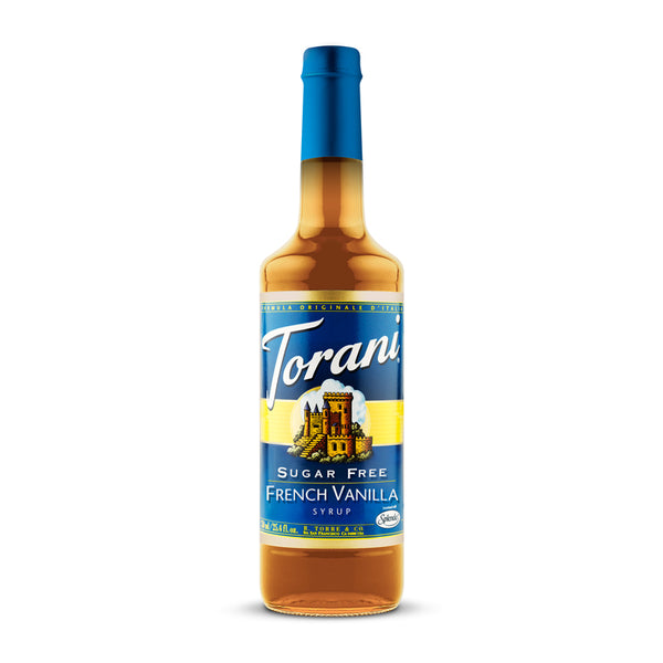 Torani Sugar Free French Vanilla 750ml