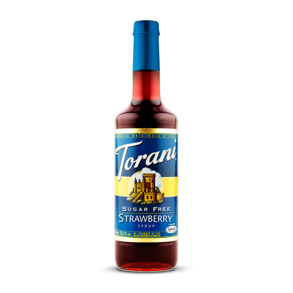 Torani Sugar Free Strawberry 750ml