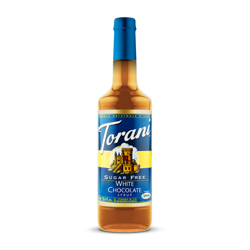 Torani Sugar Free White Chocolate 750ml (Curbside Only)