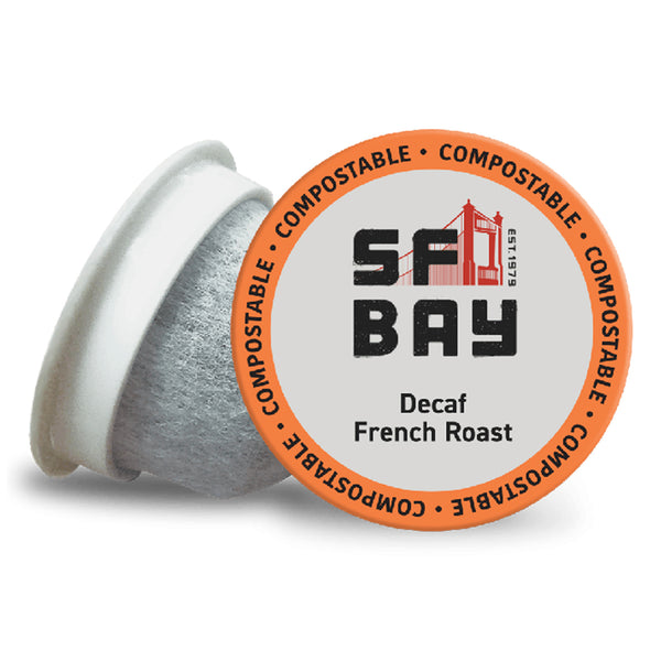 San Francisco Bay Decaf French Roast Single Serve Coffee 12 Pack